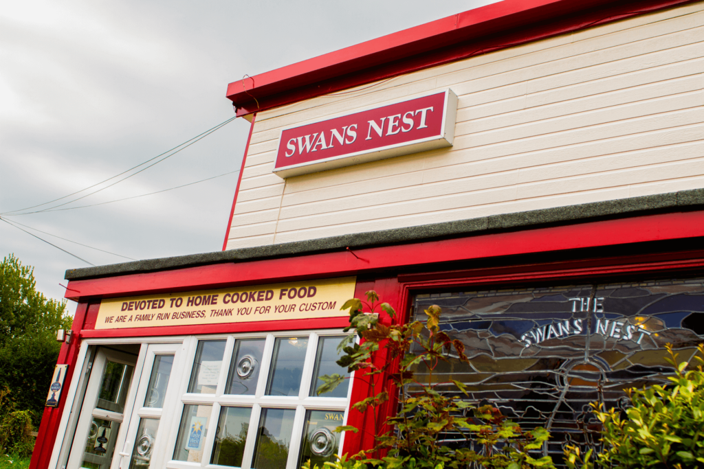 The Swans Nest Exterior